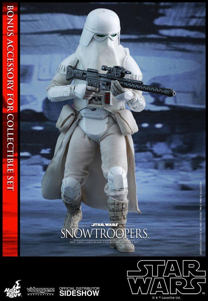 ahorra hasta un 50% Hot Juguetes Movie Masterpiece - Estrella Wars Wars Wars Battlefront - Snowtroopers Set  opciones a bajo precio