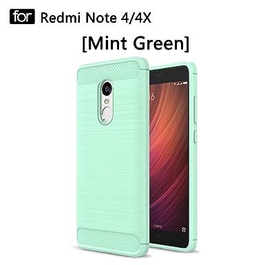 Youniker Xiaomi Redmi Nota 4 caso, Xiaomi Redmi Nota 4 carcasa de silicona protección de cuerpo completo a prueba de golpes Funda Drop Protección para ...