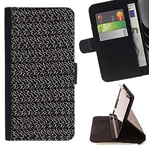 Jordan Colourful Shop - wallpaper random chains metal silver grey For Apple Iphone 6 PLUS 5.5 - < Leather Case Absorci????n cubierta de la caja de alto impacto > -