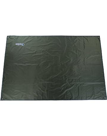OUTAD Toldo Lona Impermeable para Tienda de Campaña Terraza Manta de Picnic (verde oscuro,