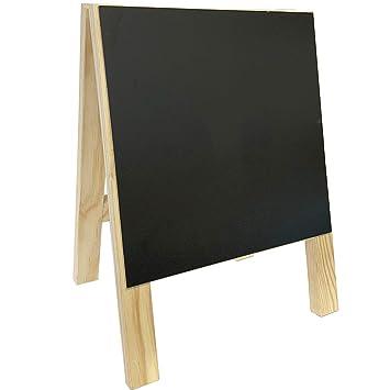ARTEMA Pizarra de pie 40 x 30 cm: Amazon.es: Hogar