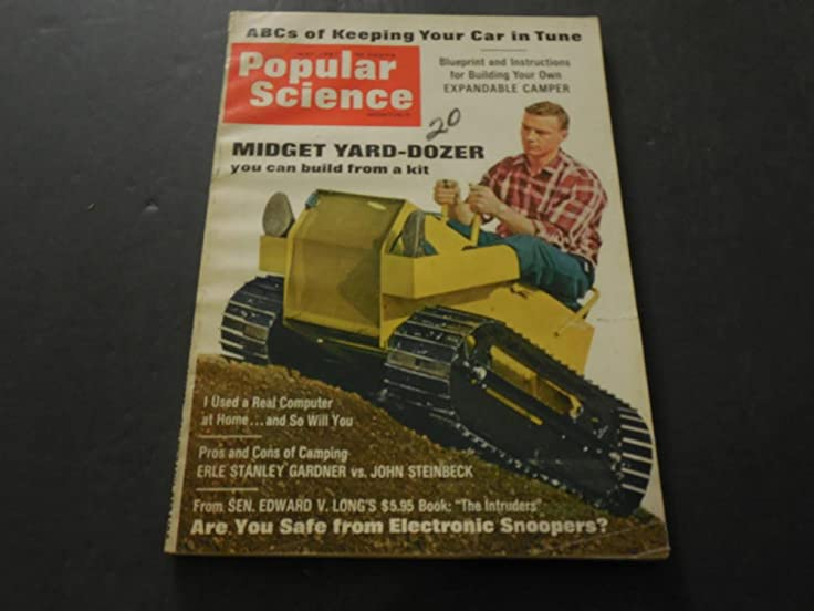 Popular science may jun 1967 expandable camper james bond 1968 popular science may jun 1967 expandable camper james bond 1968 cars at amazons entertainment collectibles store malvernweather Images