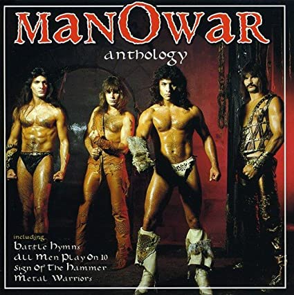 "Risultato immagini per Manowar–Anthology"""