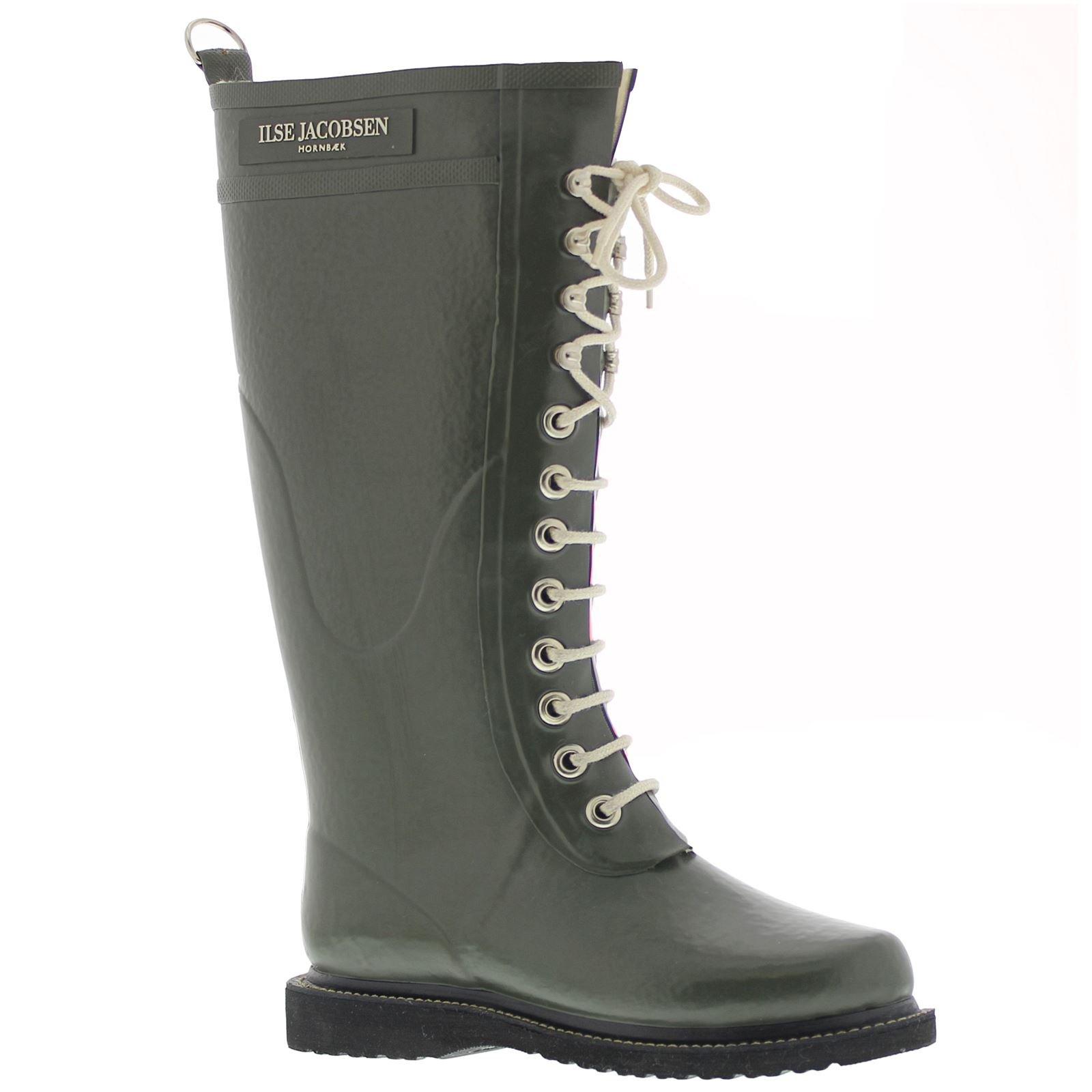 Ilse Jacobsen Rub1 Boot - Women's Army 37 by ILSE JACOBSEN