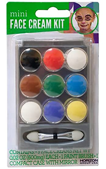 Amazoncom Shop72 Mini Face Cream Paint Set Face Paint Kit