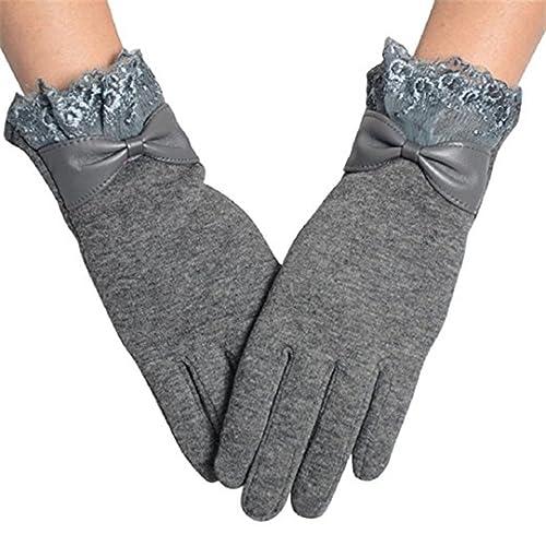 PU Ran® touch screen del telefono donna in pile antivento guanti invernali caldi Wear
