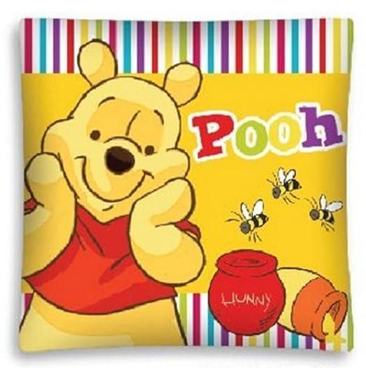 Disney almohada funda de cojín Varios Motivos Frozen Pooh Minnie Cars Princess, poliéster, Winnie Pooh 2, 40 x 40cm