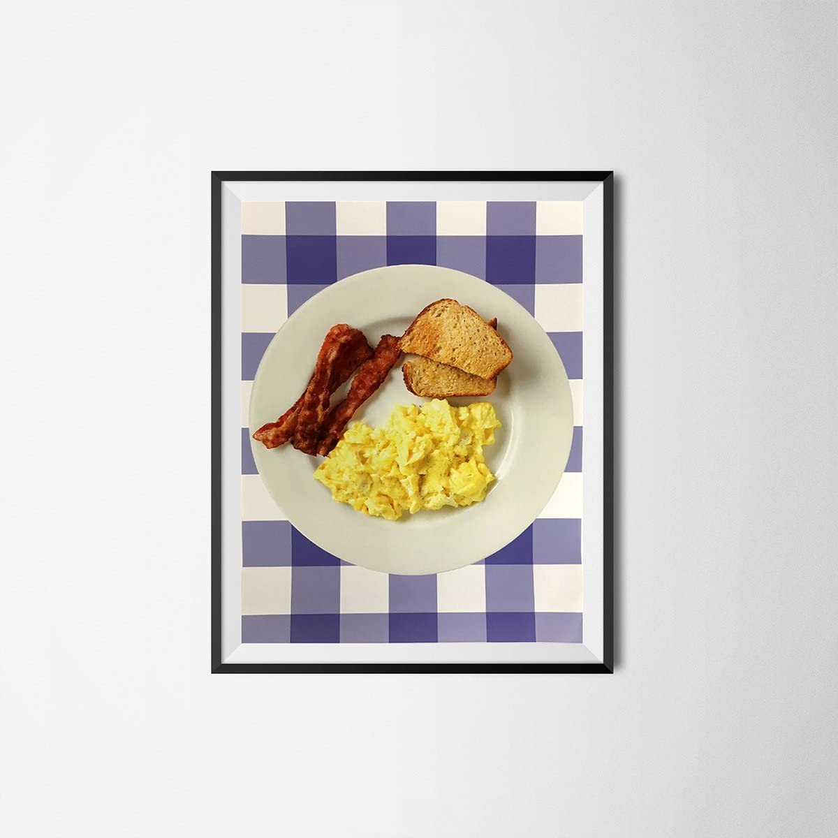 """My Party Shirt Breakfast Ron Swanson Office Poster Parks and Recreation 18"""" x 24"""" Rec Bacon Egg"""