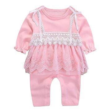 0a0a1c7460b7 Amazon.com   Newborn Lace Romper