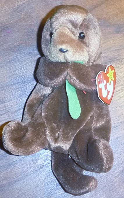b2cf6cb8059 Image Unavailable. Image not available for. Color  Seaweed the Otter - MWMT  Ty Beanie Babies