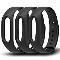 Awinner Colorful Waterproof Replacement Bands for Xiaomi Mi Band 2 Smart Miband 2nd (No Activity Tracker)