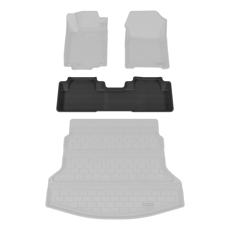 Aries HD04321509 Black Rear 3D Floor Liner 1 Piece