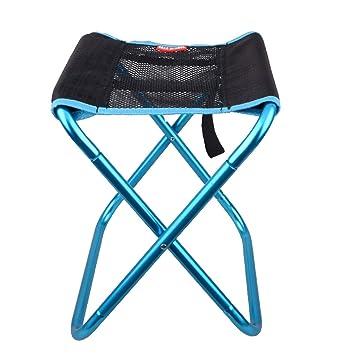 Amazon.com: Azarxis Taburete plegable portátil, silla de ...
