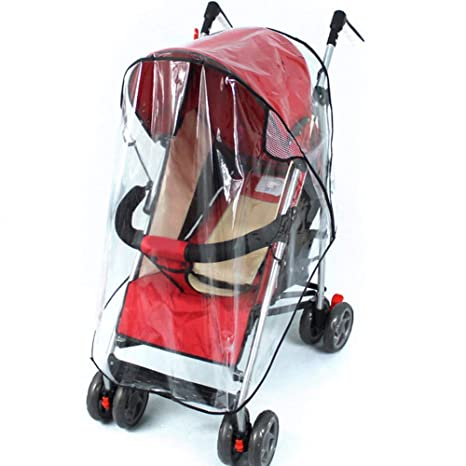New Rain Cover Raincover For Universal Buggy Pushchair Stroller Pram Baby Car US