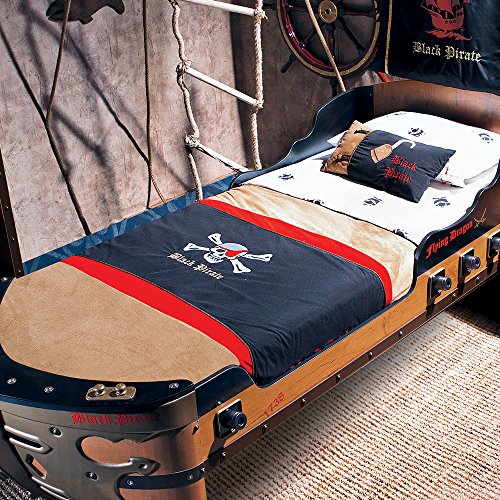 Cilek Kids Room Pirate Collection, Hook Bed Cover, Twin by Cilek Kids Room