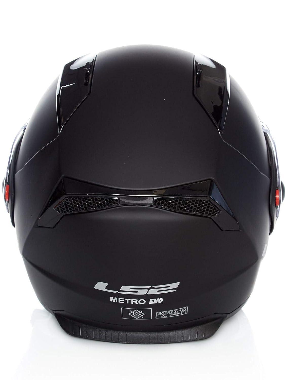 LS2 FF324 Metro MATT Black P//J 3XL