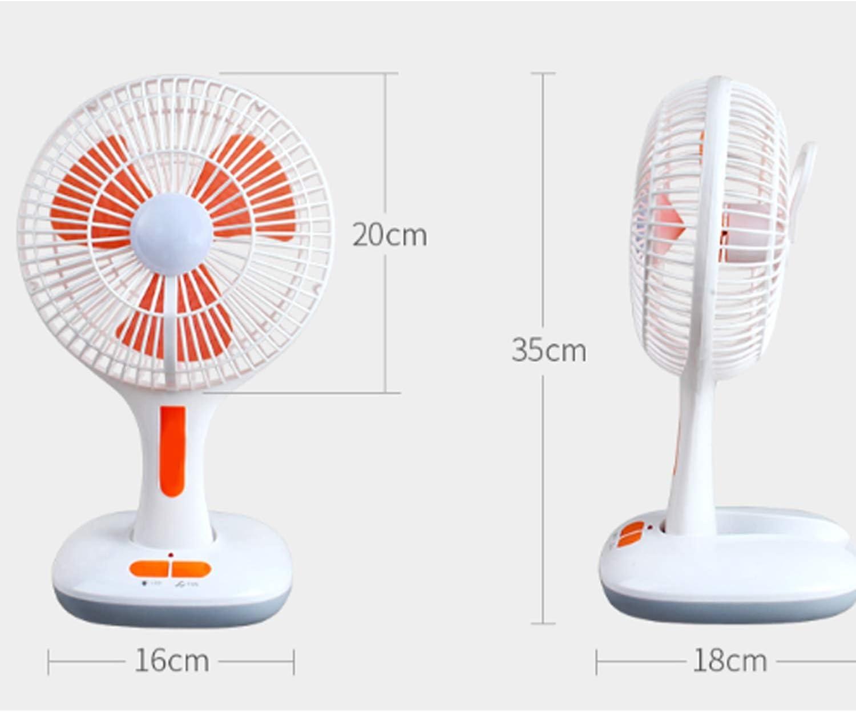 Color : Add 3W Solar Panels Air Cooling Fan Charging USB Table Fan 12 LED Lamp Beads Solar Charging Solar Panels Rotatable Desktop Electric Fan