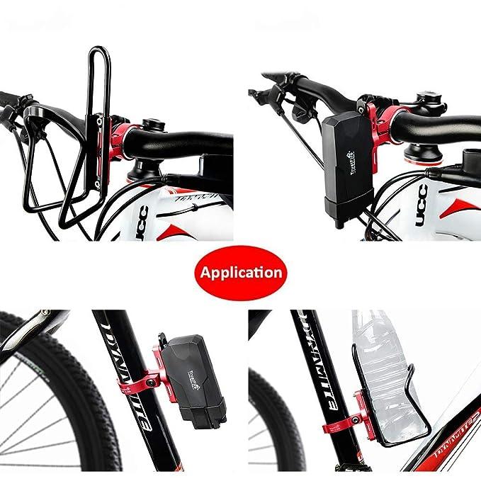 Premium Bottle Cage Mount Adapter Adjustable MTB Road Bike Aluminum Alloy