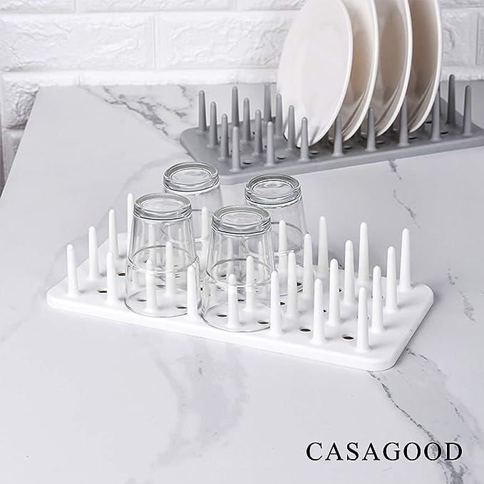 Amazon.com: CASAGOOD - Escurreplatos para secar botellas ...