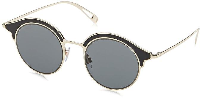 Armani GIORGIO 0AR6071 Gafas de sol, Black/Pale Gold, 46 ...