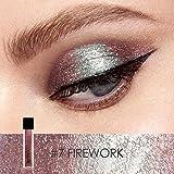 FOCALLURE Glitter Liquid Eyeliner Metallic Shimmer Glitter Eyeshadow Pigment Waterproof Makeup Eye Shadow-Firework