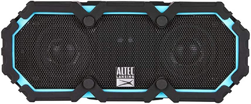 Altec Lansing Life Jacket 8 - Bluetooth Speaker, Wireless, Waterproof,  Floatable, Portable, Loud Volume, Strong Bass, Rich Stereo System, USB  Charger,