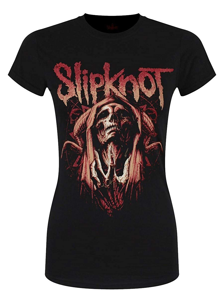Slipknot T-Shirt Evil Witch da Donna in Nero