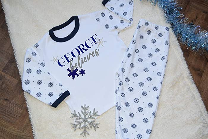 Personalised Name Christmas Pyjamas Girls Pjs Winter Ladies Xmas Gifts Present