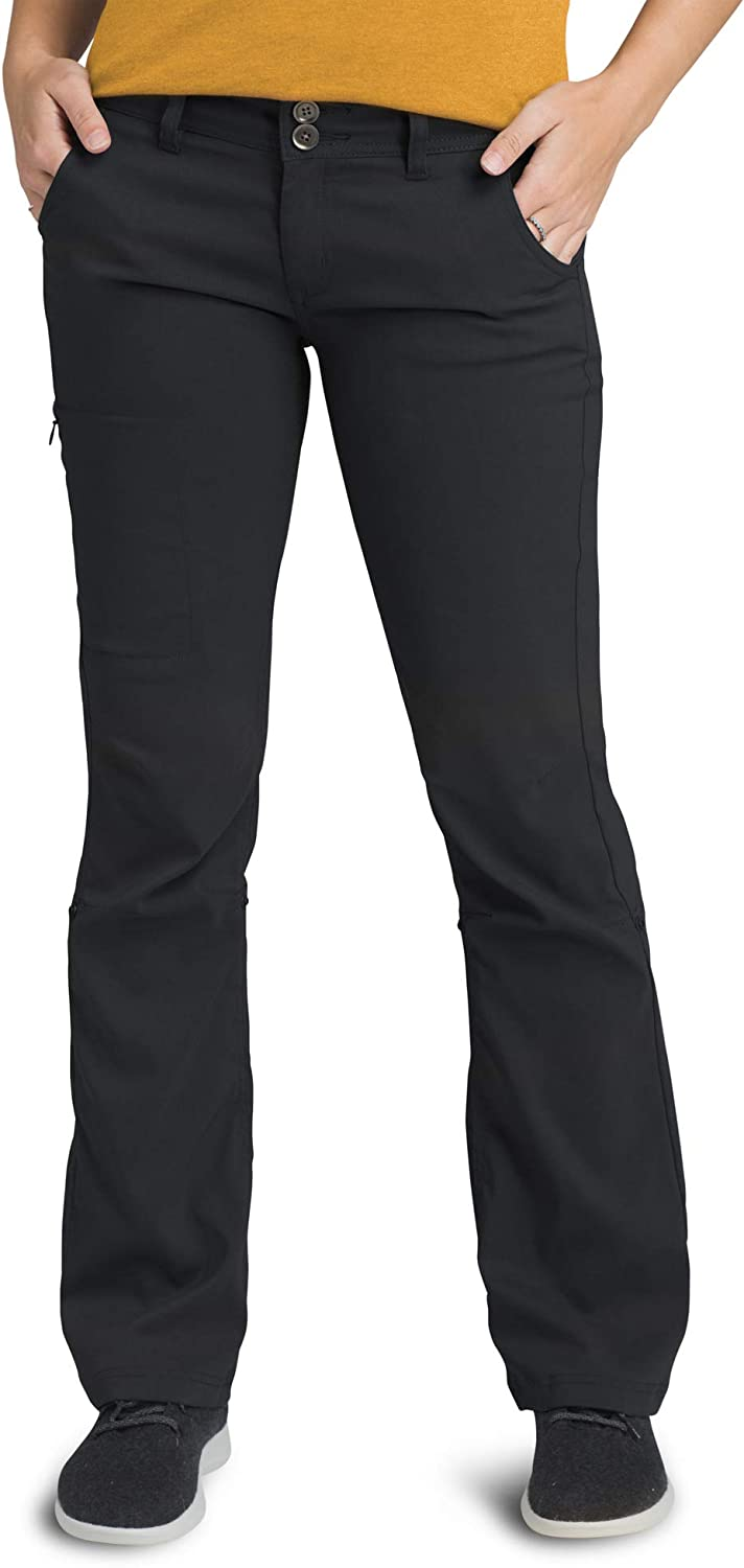 B00A8MYTBQ prAna - Women's Halle Roll-Up, Water-Repellent Stretch Pants for Hiking and Everyday Wear 61aNSNGew2L