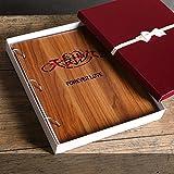 Creative romantic gift / 567 inch a mixed / wood interstitial album album / boxed family baby couple travel album / ( Style : C )