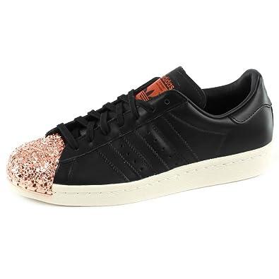 Adidas Originals Superstar 80S Metal Basket Mode Femme Noir, 40 2/3