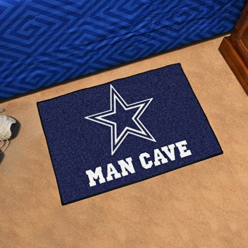 Dallas Cowboys Man Cave Starter Rug 19x30 - FAN-14293 by - Starter Dallas Rug Cowboys