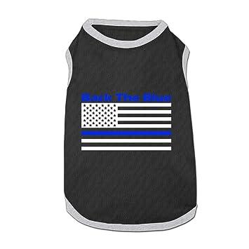 Militar Back la azul americano bandera Cool Perro Ropa Abrigo: Amazon.es: Productos para mascotas