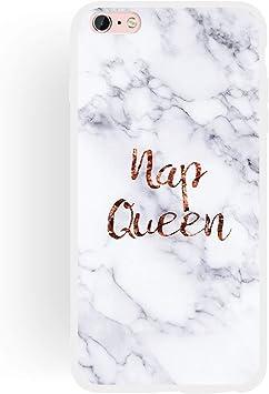coque iphone 7 plus queen marbre