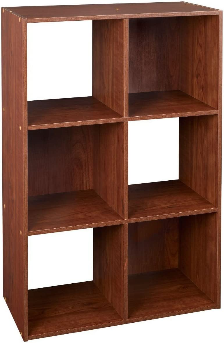 ClosetMaid 4104 Cubeicals Organizer, 6-Cube, Dark Cherry
