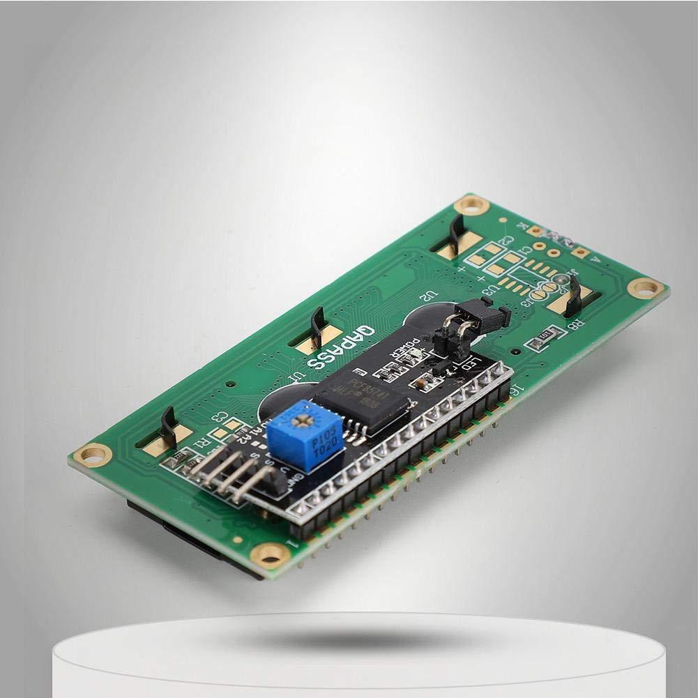 Garsent Modulo Display LCD HW-060A retroilluminazione Blu Schermo LCD 3.3V 1602 Adattatore interfaccia IIC I2C per Arduino Uno Raspberry pi