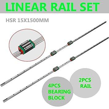 15-1500mm Linearführung Linear Hohe Belastung Drehmaschinen CNC-Set