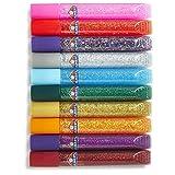 Elmer's Washable Glitter Glue, Classic Rainbow, Pack of 10 Pens  (E199)