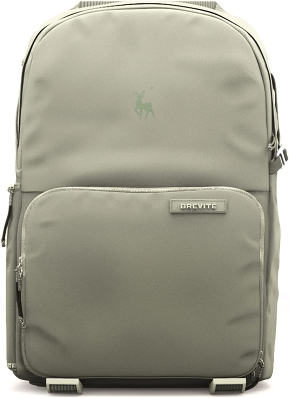 Brevite Jumper Photo Compact Camera Backpack: A Minimalist & Travel-Friendly Photography Backpack Compatible with Both Laptop & DSLR Accessories 18L (Green)