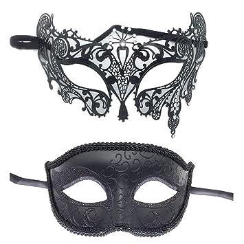 Black Mens Ladies Glitter Venetian Masquerade Party Prom Carnival Eye Mask