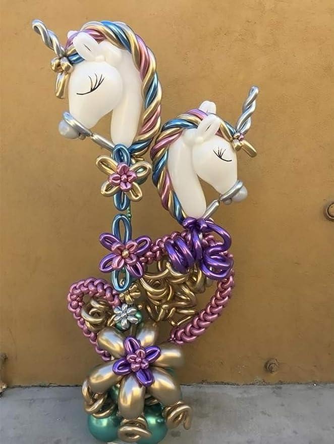 50 Air Balloons Metallic Beads Pink 30cm no 630 5196//2