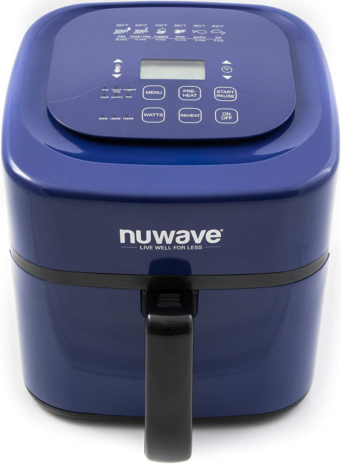 Nuwave 6 Qt. Brio Air Fryer- Blue