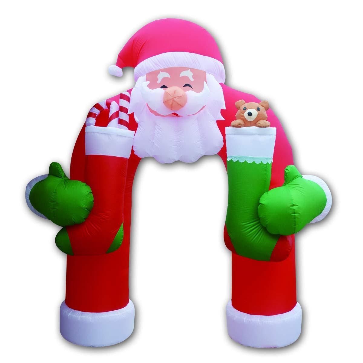 Amazon.com: Goosh - Arco de Navidad inflable de 11 pies ...