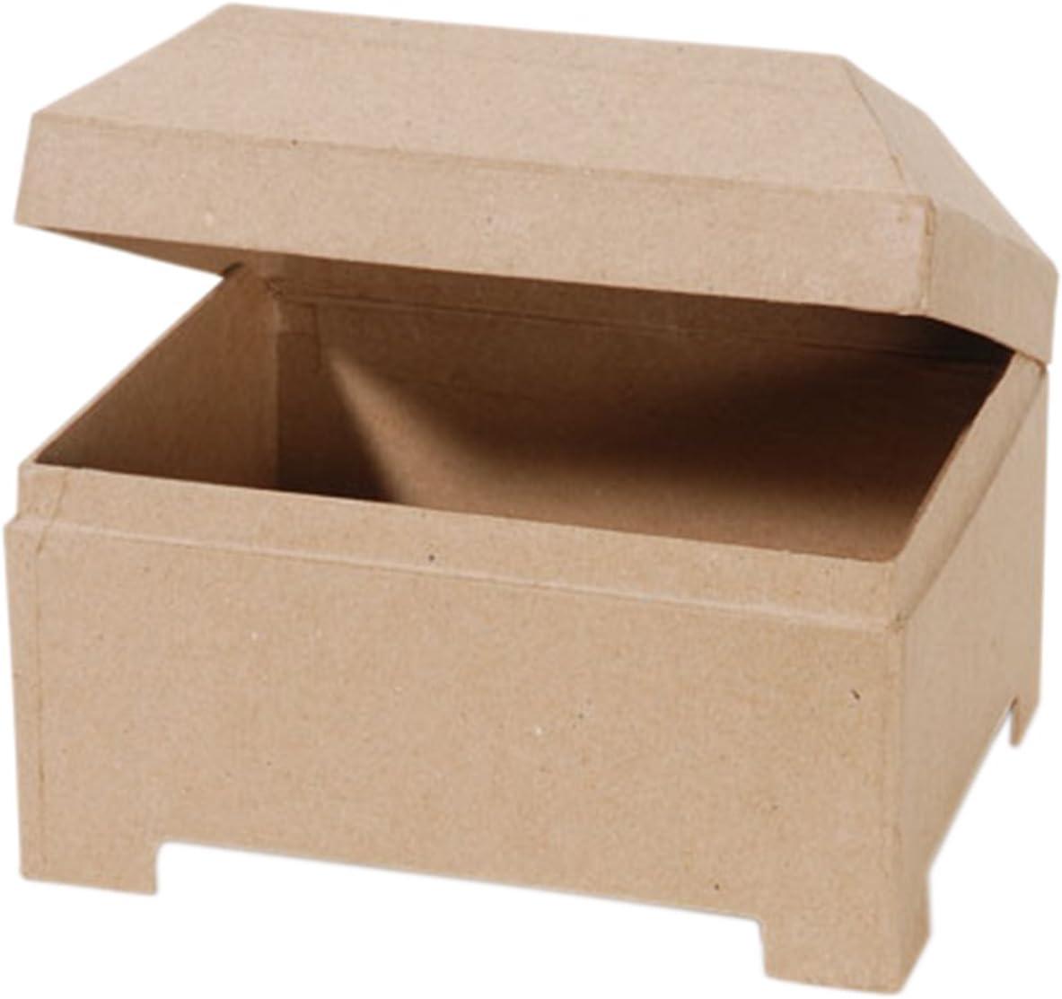 7 x 5.5-Inch Darice 2873-216 Paper-Mache Jewel Box