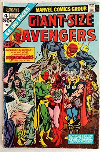 Giant-Size Avengers, v1 #4. Jun 1975 [Comic Book]