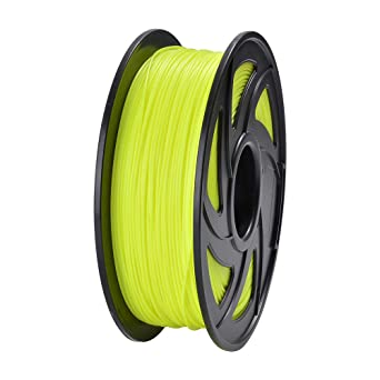 PLA Filament 1.75mm 1kg uk seller next day delivery 3D Printer Filament yellow
