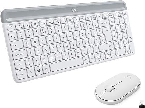 Logitech MK470 Combo Teclado y Ratón Inalámbrico para Windows ...