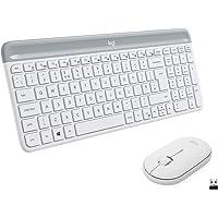 Logitech MK470 Combo Teclado y Ratón Inalámbrico para Windows, 2.4 GHz con Receptor USB, Diseño Compacto, Batería de…