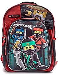 "Ninjago 3D Molded 16"" Backpack School Book Bag"