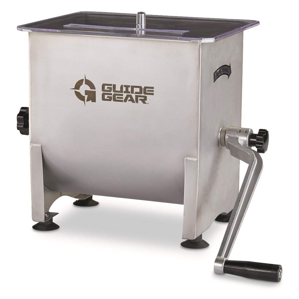Guide Gear Stainless Steel Meat Mixer, 4.2 Gallon Capacity by Guide Gear